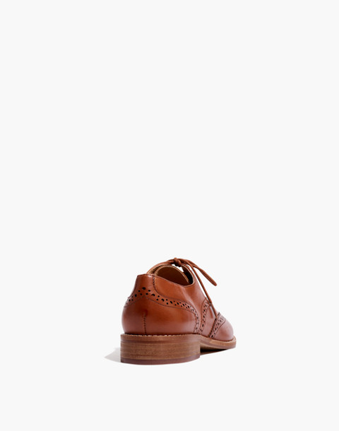 The Juliette Oxford in dark chestnut image 3