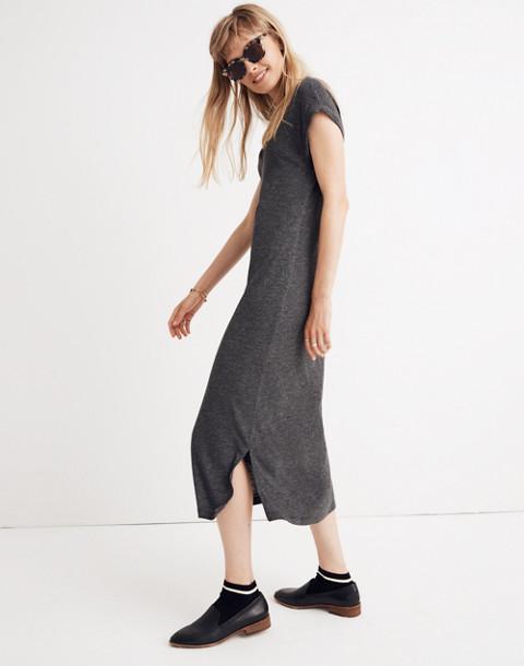 Horizon Midi Dress in hthr black image 2