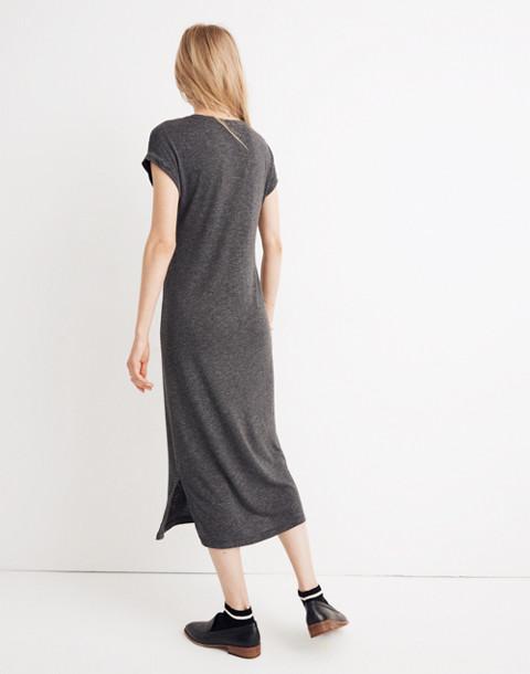 Horizon Midi Dress in hthr black image 3