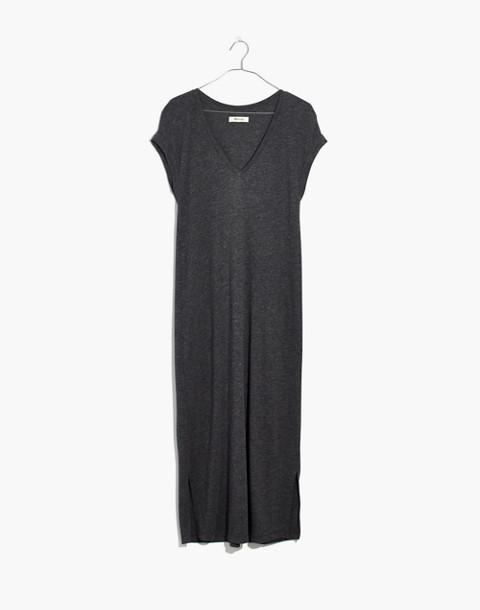 Horizon Midi Dress in hthr black image 4