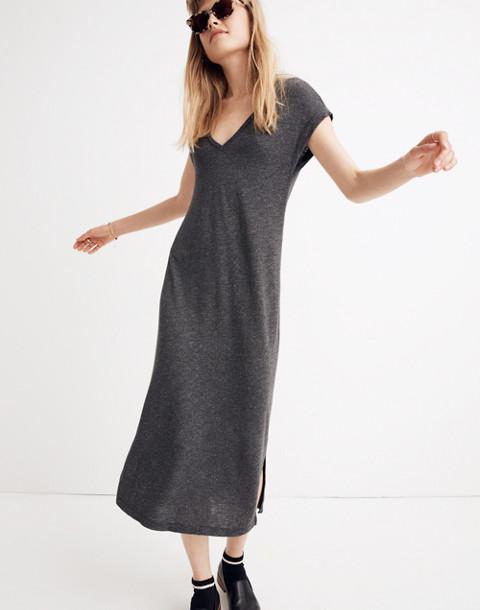 Horizon Midi Dress in hthr black image 1