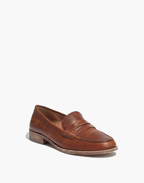 991a2a1f61a The Elinor Loafer in dark chestnut image 2