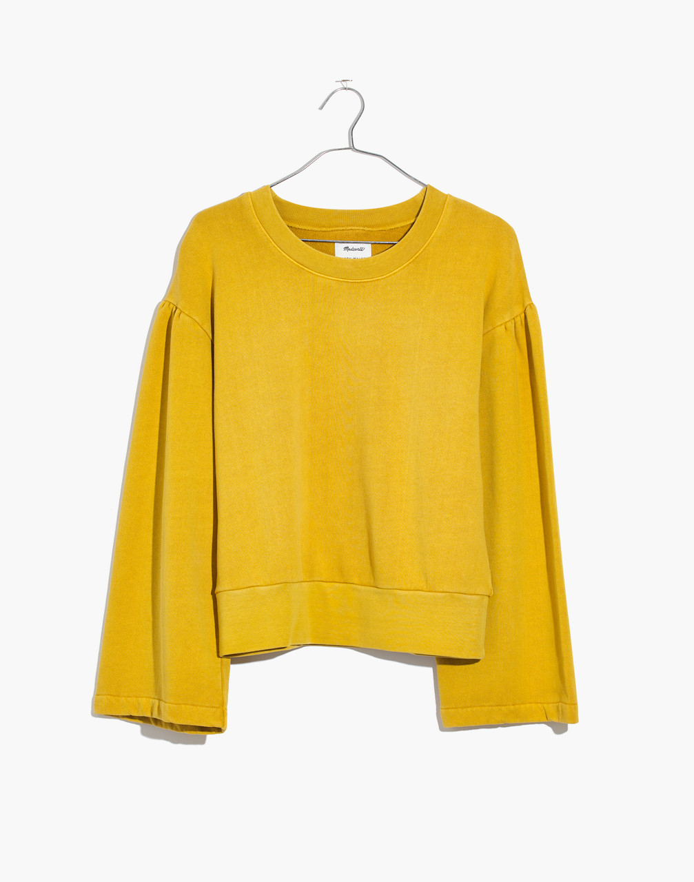 Madewell x Karen Walker® Garment-Dyed Sweatshirt in golden apple image 1