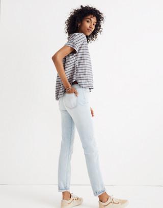 Hilltop Shirt in Precioso Stripe in faded indigo image 2