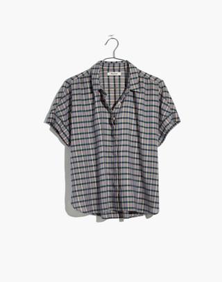 Hilltop Shirt in Precioso Stripe in faded indigo image 4