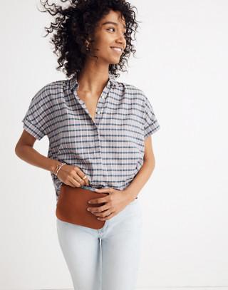 Hilltop Shirt in Precioso Stripe in faded indigo image 1