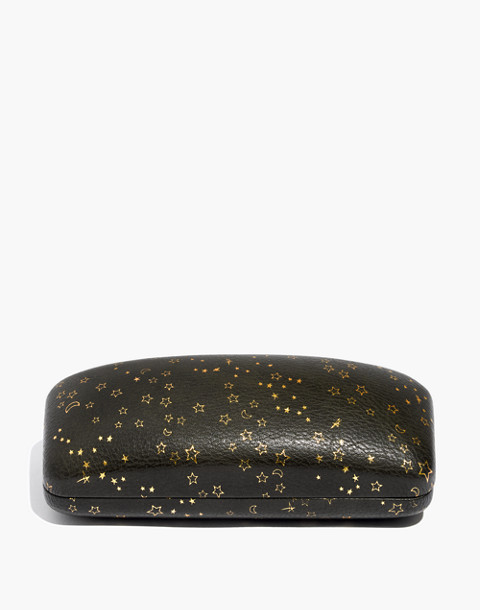 Starry Night Sunglass Case in olive multi image 1