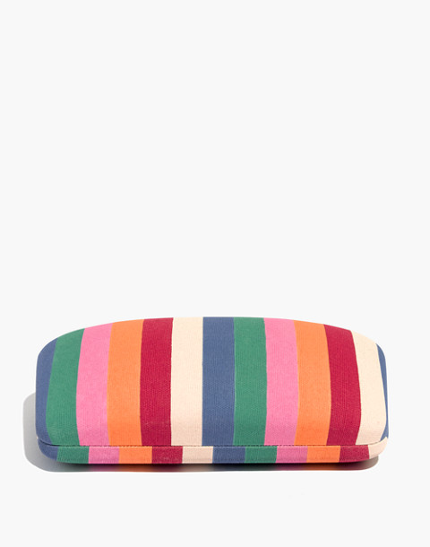 Multi-Stripe Sunglass Case