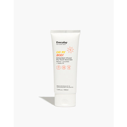 Everyday For Every Body™ Oh My Bod! SPF50 Antioxidant Infused Dry Touch Sunscreen