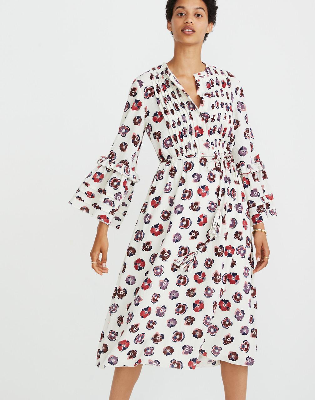 Madewell x Karen Walker® Floral Fantasia Ruffled Dress