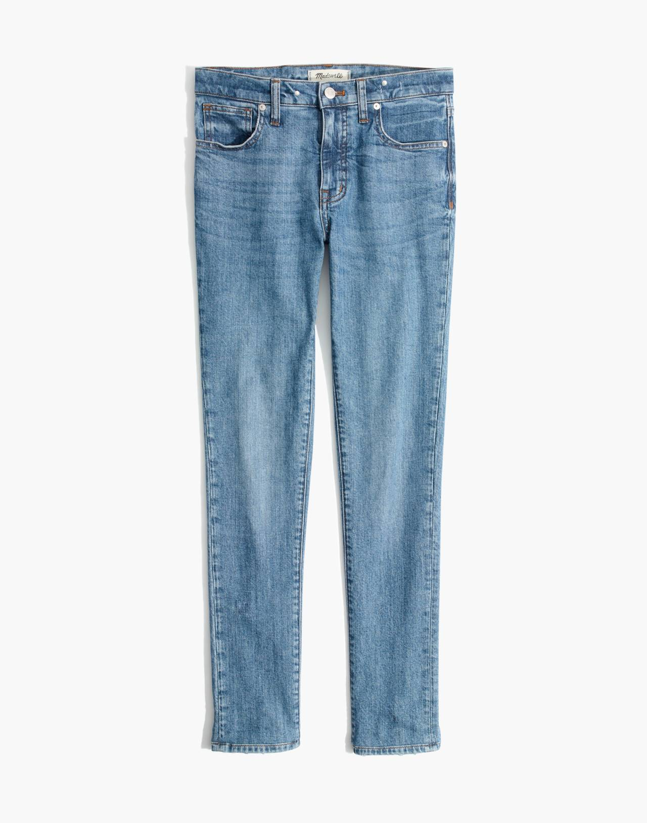 "9"" High-Rise Skinny Jeans in Comfort Stretch: Eco Edition in regina wash image 4"