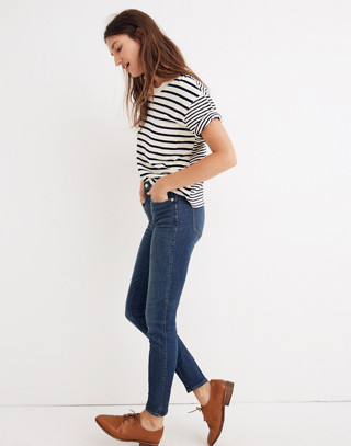 "Petite 10"" High-Rise Skinny Jeans in Elinor Wash: Eco Edition in market image 3"