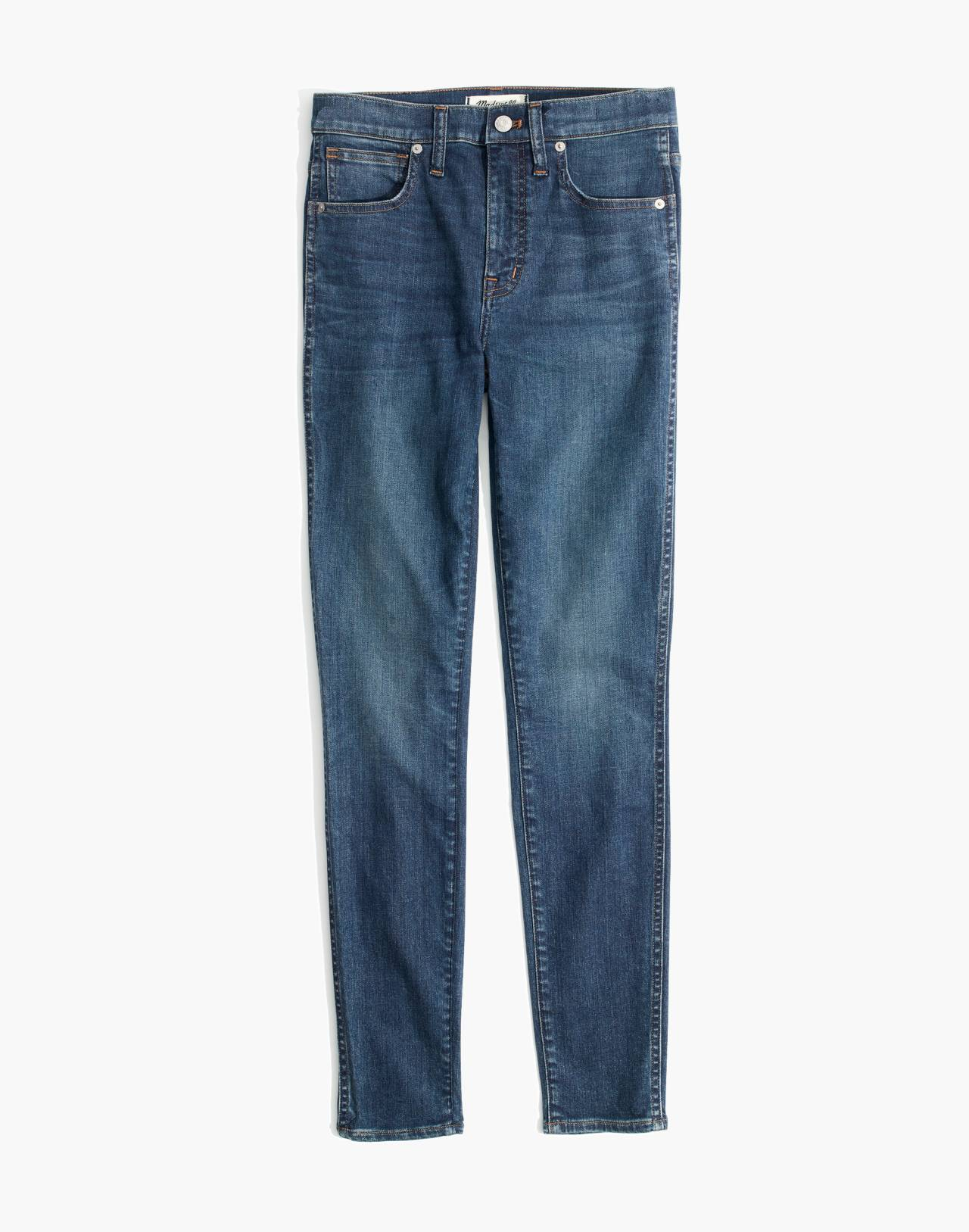 """10"""" High-Rise Skinny Jeans in Elinor Wash: Eco Edition in market image 4"""