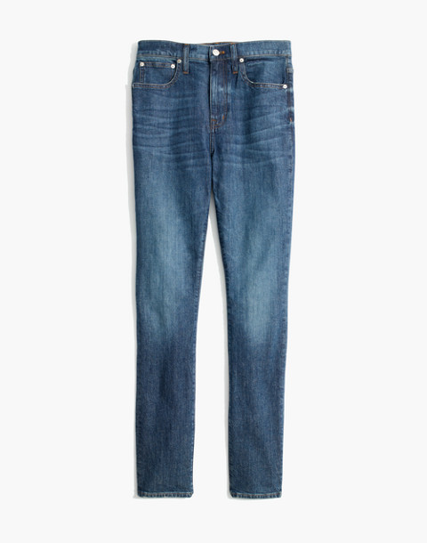 The High-Rise Slim Boyjean: Eco Edition in rossie wash image 4