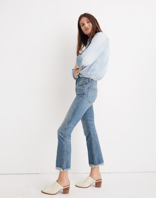 Cali Demi-Boot Jeans in Comfort Stretch: Eco Edition in heney image 2