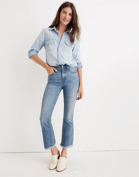 Petite Cali Demi-Boot Jeans in Comfort Stretch: Eco Edition in heney image 3