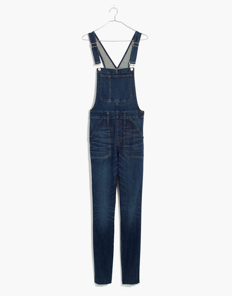 Skinny Overalls: Eco Edition in elmdale wash image 4