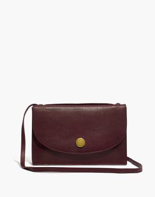The Slim Convertible Bag in dark cabernet image 1