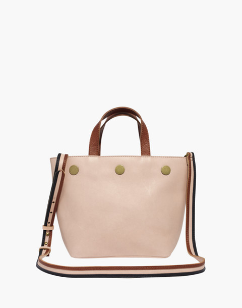 The Eaton Top-Handle Bag in sheer pink image 1