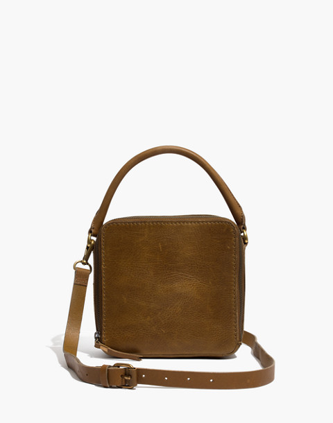 The Square Satchel Bag in savannah moss image 1