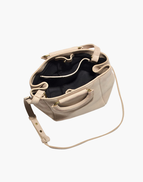 The Top-Handle Mini Bag in faded wicker image 2