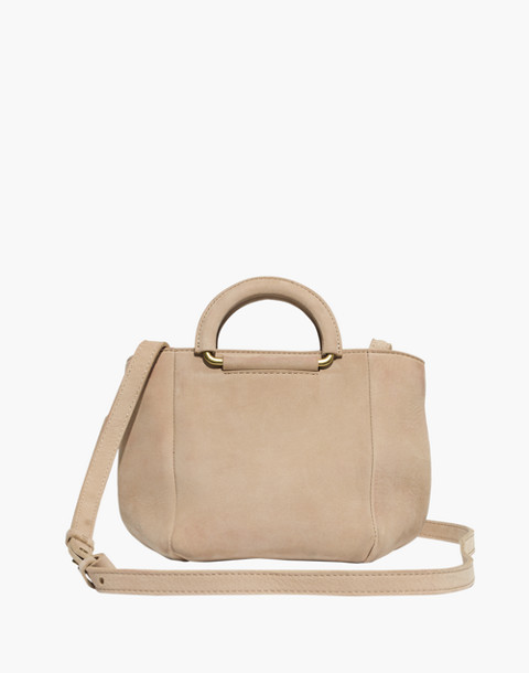 The Top-Handle Mini Bag in faded wicker image 1
