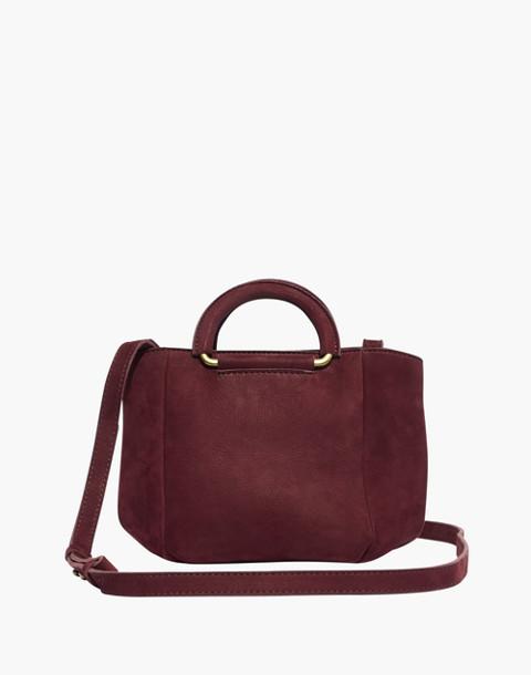 The Top-Handle Mini Bag in dark cabernet image 1