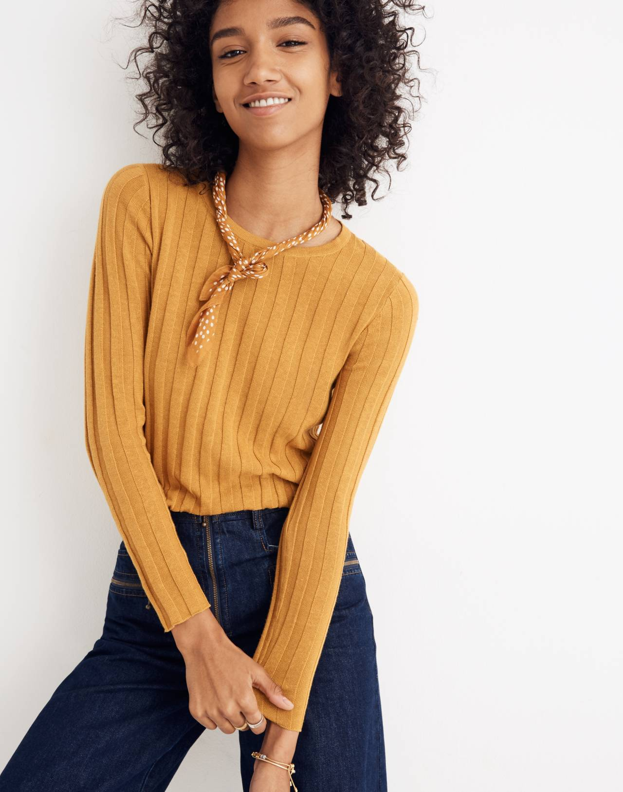 Clarkwell Pullover Sweater in naples yellow image 1