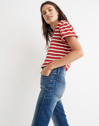 The Petite Perfect Vintage Jean: Comfort Stretch Edition in glenmoor wash image 2