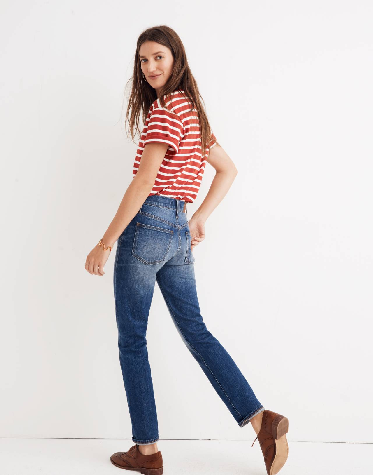 The Perfect Vintage Jean: Comfort Stretch Edition in glenmoor wash image 3