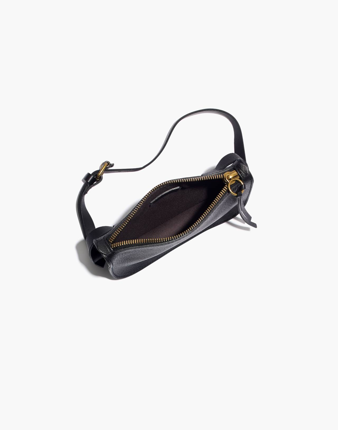 The Simple Pouch Belt Bag in true black image 2