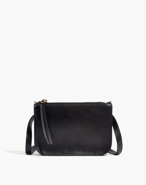 The Simple Pouch Belt Bag in true black image 1
