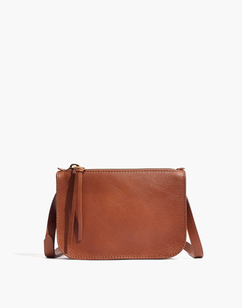 The Simple Pouch Belt Bag in english saddle image 1