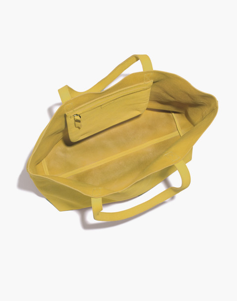 The Transport Tote in vintage chartreuse image 2
