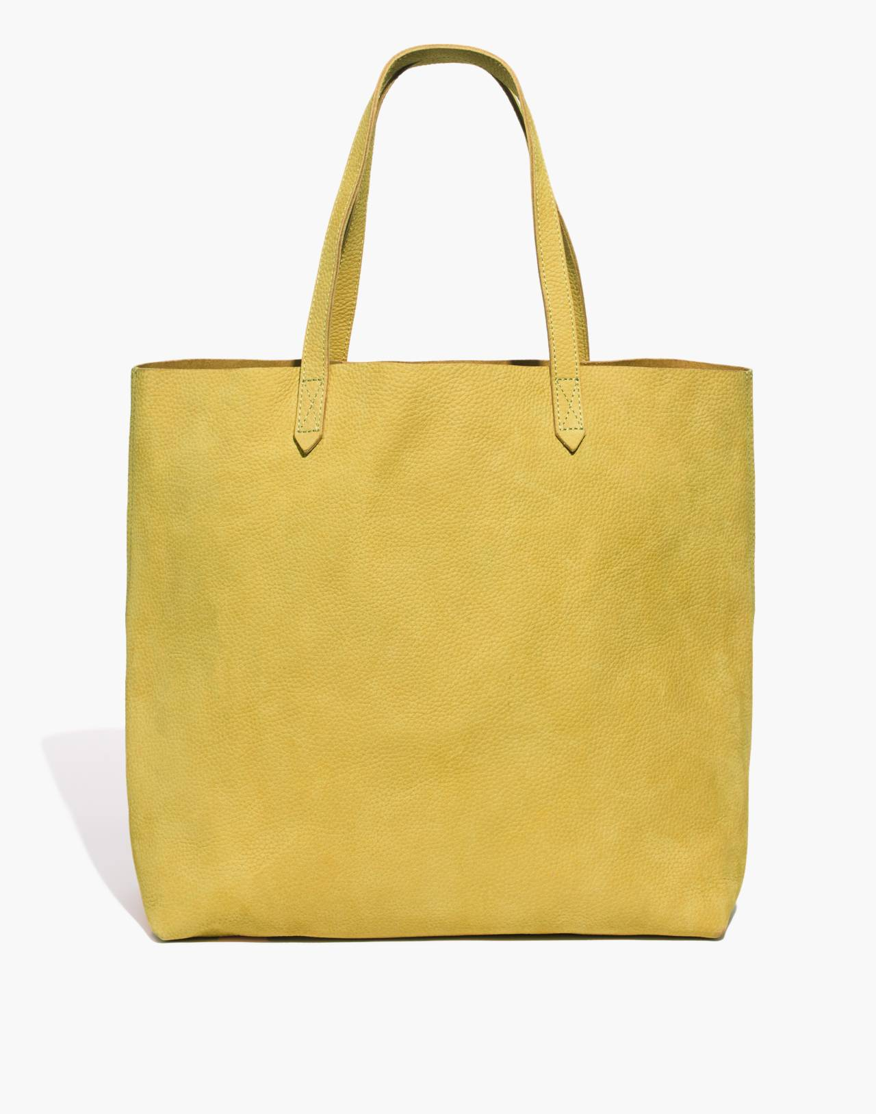 The Transport Tote in vintage chartreuse image 1