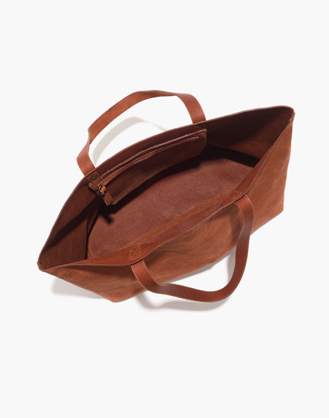 The Transport Tote in spiced cider image 3