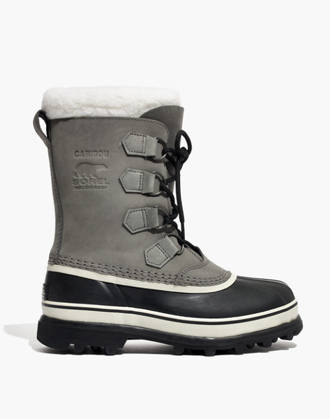 Sorel® Caribou™ Boots in shale stone image 3