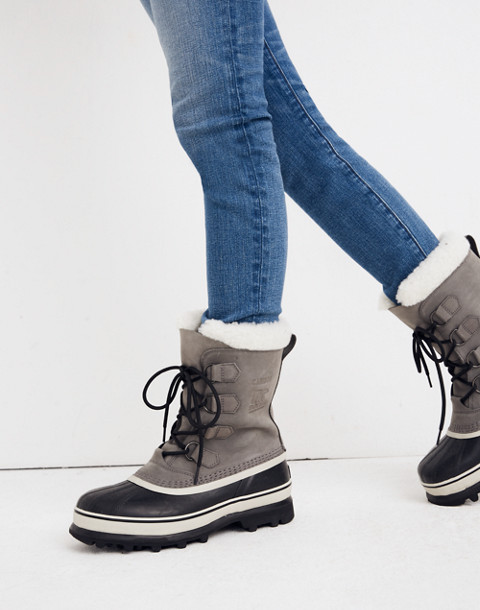 Sorel® Caribou™ Boots in shale stone image 2