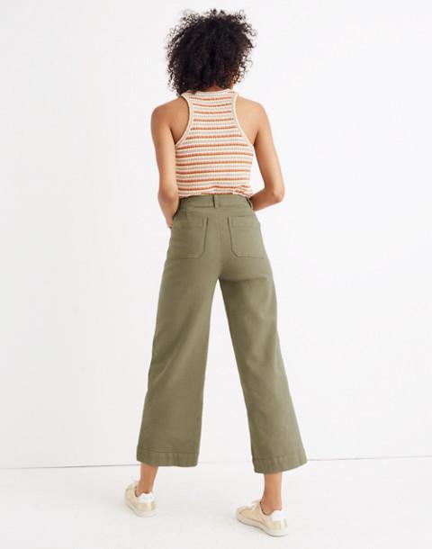 Tall Emmett Wide-Leg Crop Pants in british surplus image 3