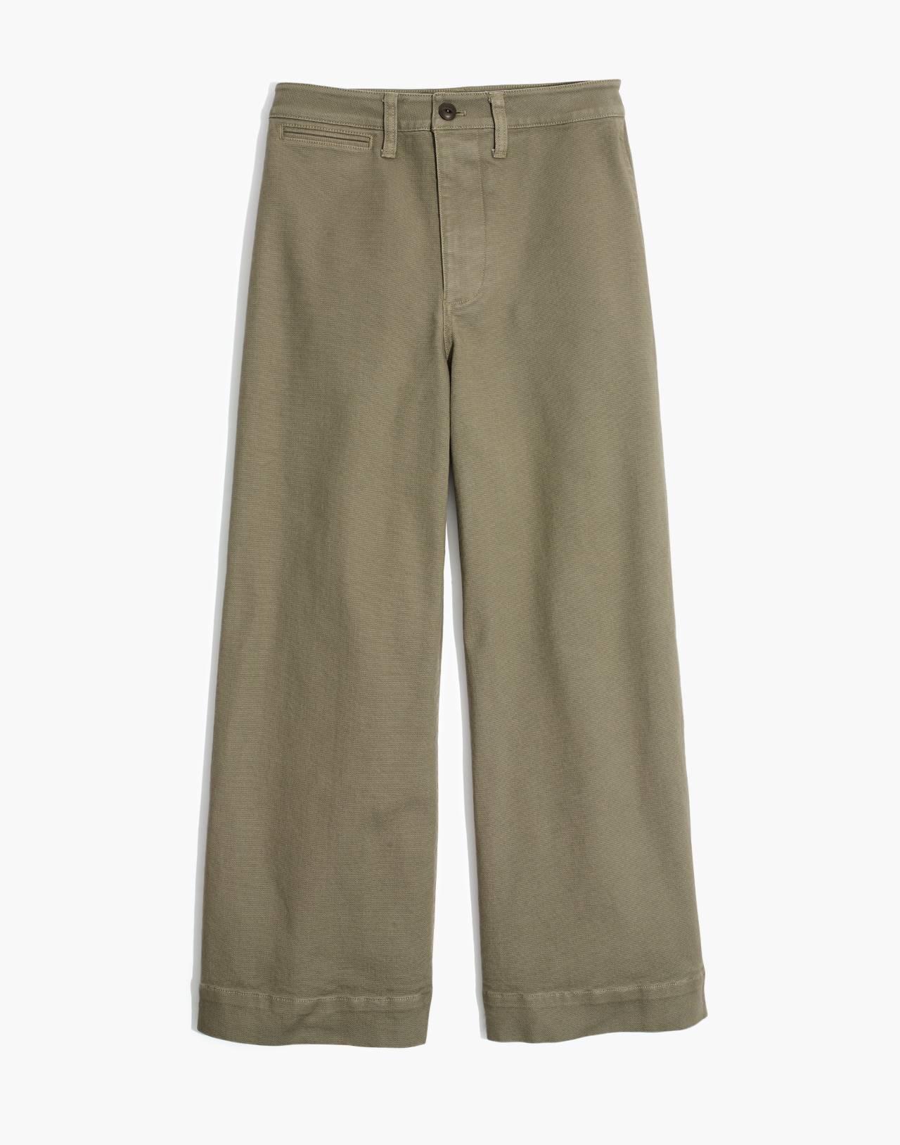 Emmett Wide-Leg Crop Pants in british surplus image 4