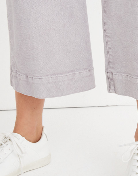 Tall Emmett Wide-Leg Crop Pants in violet tint image 3