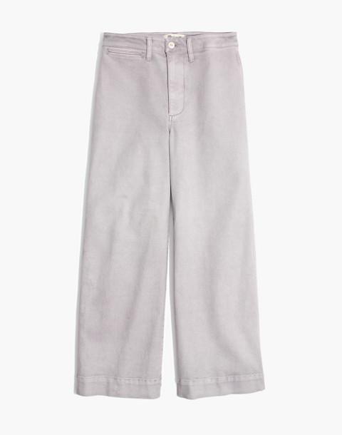 Tall Emmett Wide-Leg Crop Pants in violet tint image 4
