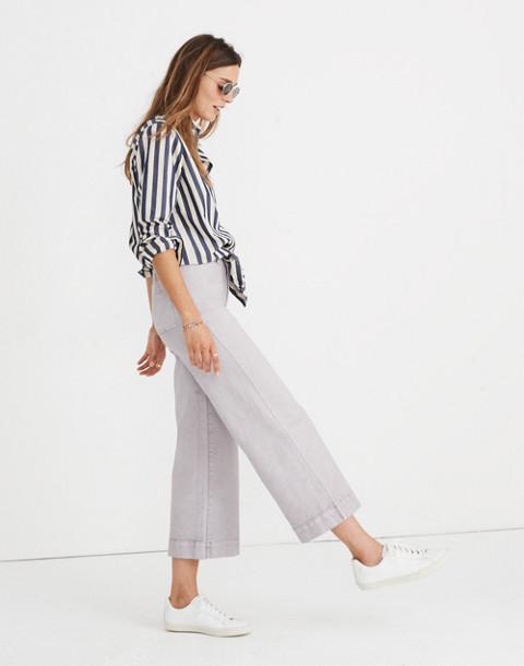 Tall Emmett Wide-Leg Crop Pants in violet tint image 1