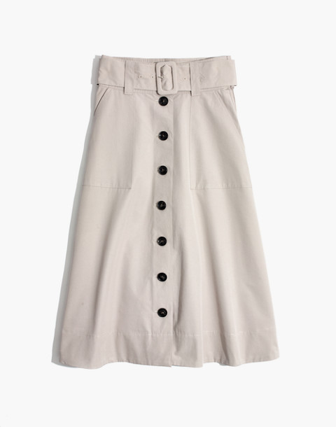 Trench Circle Skirt in weathered concrete image 4