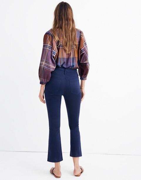 Cali Demi-Boot Sateen Jeans in juniper berry image 3