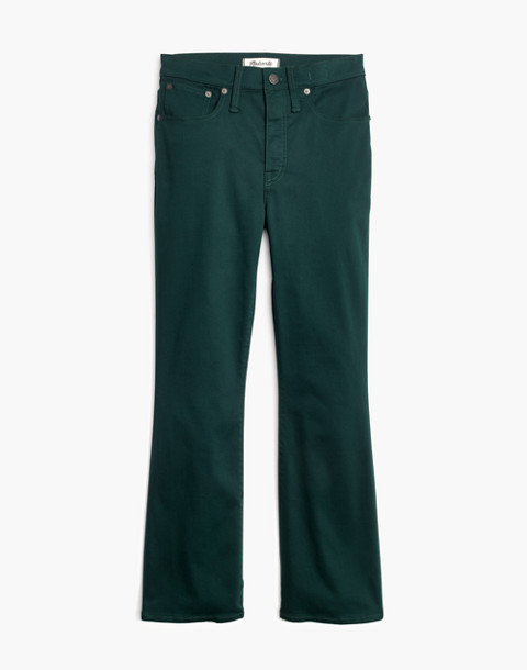 Cali Demi-Boot Sateen Jeans in smoky spruce image 4