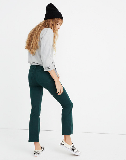 Cali Demi-Boot Sateen Jeans in smoky spruce image 1