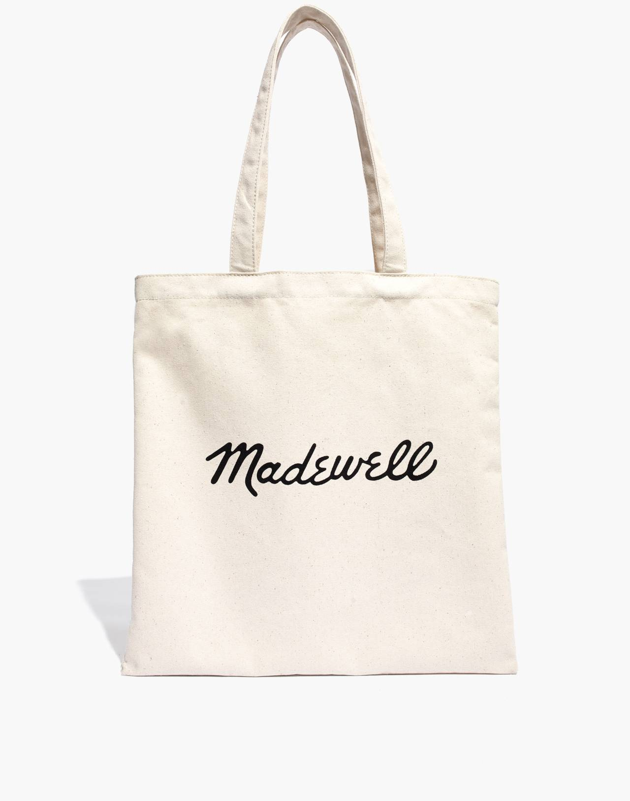 Madewell x Human Rights Campaign Love to All Pride Reusable Canvas Tote Bag in antique cream image 2