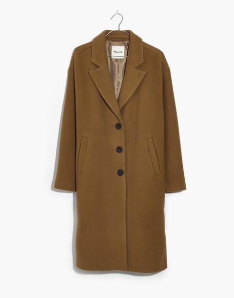 Bergen Cocoon Coat in classic desert image 1