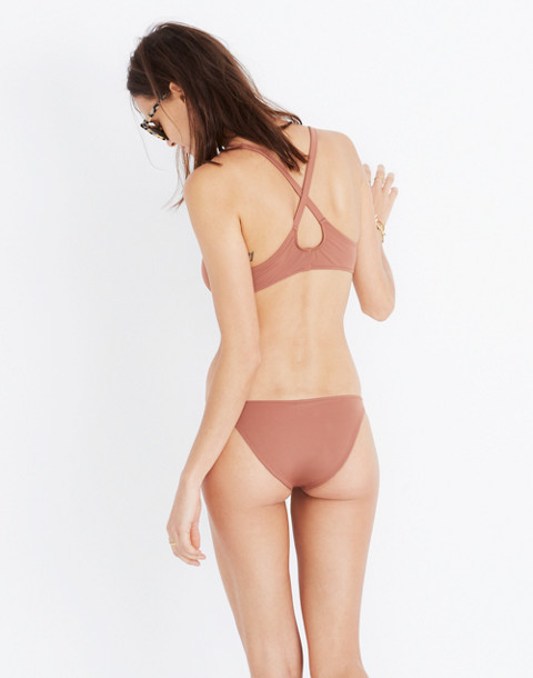 Solid & Striped® Elle Bikini Bottom in mocha image 2